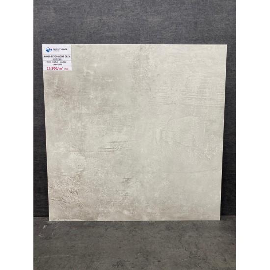 Beton Light Grey 60x60