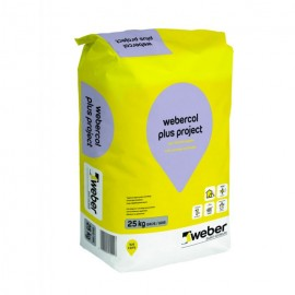 WEBERCOL PLUS PROJECT C2TES1 GRIS 25KG